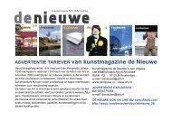 adverteren - de nieuwe.nl