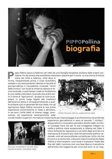 biografia - Pippo Pollina