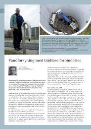 Vandforsyning med trådløse forbindelser - Siemens