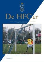nr. 1. 14 januari 2008 1 januari 2008 Koninklijke HFC - Ex ...