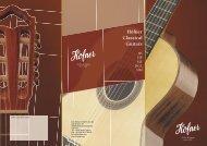 Höfner classical guitars