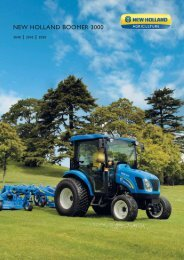 NEW HOLLAND BOOMER 3000