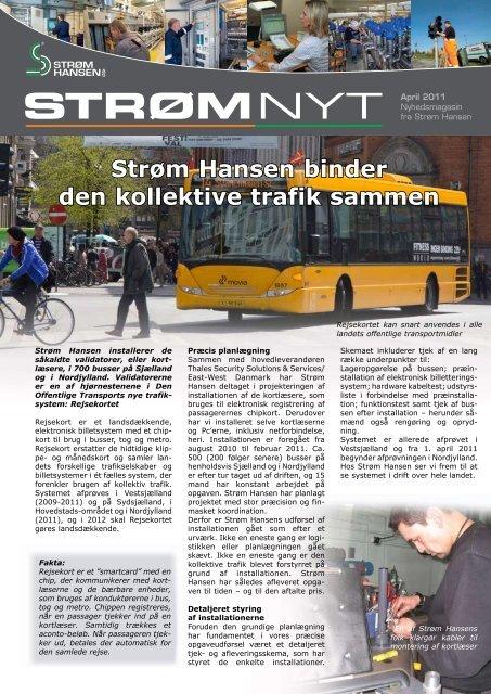 STRØMNYT - Strøm Hansen A/S