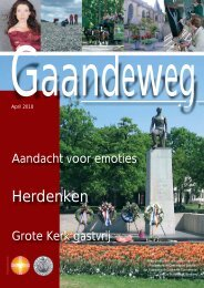 Gaandeweg april 2010 - Protestantse Gemeente Zwolle