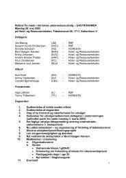 Referat fra møde i det lokale uddannelsesudvalg – GASTRONOMER