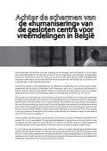 12maanden in de gesloten centra - Vluchtelingenwerk Vlaanderen - Page 2