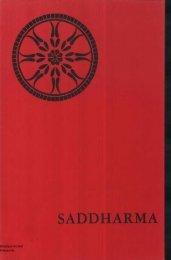 Saddharma 1970-07-05 - Nederlands Boeddhistisch Archief