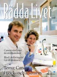 Rädda livet nr 2, 2008 (PDF, 4 MB) - Cancerfonden