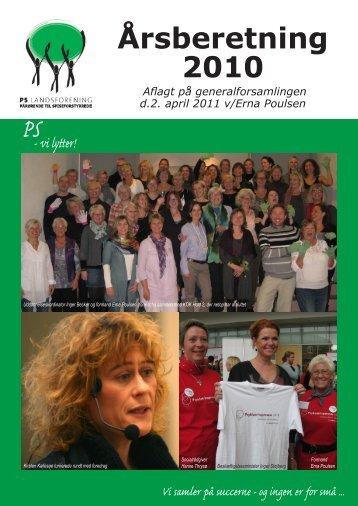 Årsberetning 2010 - PS Landsforening