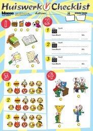 Checklist-huiswerk - Klasse