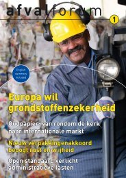 afvalforum maart 2013 - Vereniging Afvalbedrijven