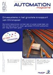 Drivesystems in het grootste knooppunt van Chronopost - Fimop