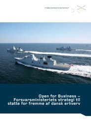 Open for Business strategien - Forsvarsministeriet