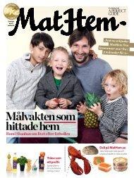 Nummer 4, 2012 MatHems mattidning
