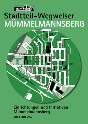 Wegweiser Einrichtungen und Initiativen Mümmelmannsberg (PDF ...