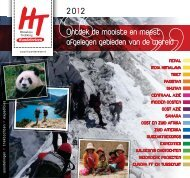 Brochure 2013 downloaden - HT Wandelreizen