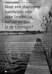 jg7_nr1_Naar een duurzame ruimtelijke visie in ... - Natuurpunt Gent