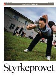 Artikel i Dagens Industri. - Svenska Hälsocampen