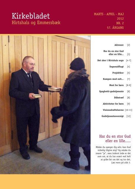 Kirkebladet - Hirtshals Sogns forside
