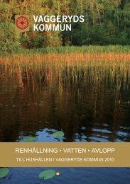 Renhållning, vatten och avlopp 2010.pdf - Vaggeryds kommun