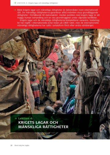 Krigets lagar och mänskliga rättigheter