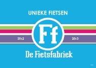 Brochure 2012-2013 - De Fietsfabriek