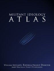 Militant IDEOLOGY ATLAS - Spearhead Research - Pakistan