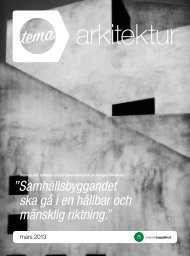 TEMA Arkitektur - Svensk Byggtjänst