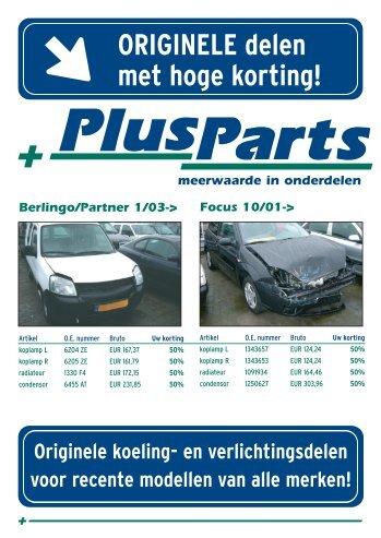 PlusParts a4 flyer 2005-1