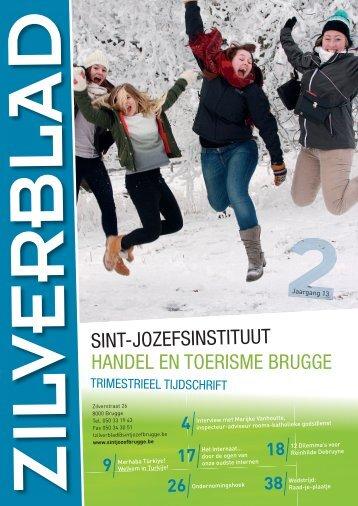 Bekijk Zilverblad in pdf - Sint-Jozefsinstituut Handel en Toerisme