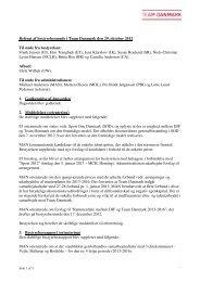 Referat af bestyrelsesmøde i Team Danmark den 29. oktober 2012 ...