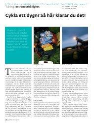 Cykla ett dygn - Toppfysik