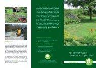 hoe verzorgt u vaste planten in de kringlooptuin? (pdf, 1,19 ... - Ivago