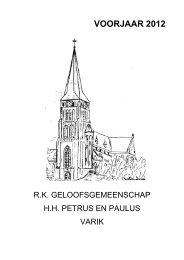 VOORJAAR 2012 - Heilige Suitbertus