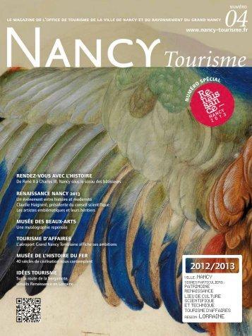 Nancy Tourisme n°4 en pdf