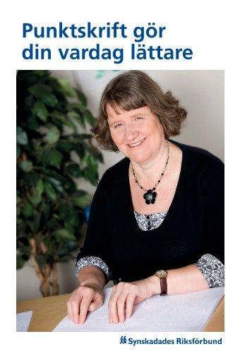 PDF-dokument, 1,8 MB - Synskadades Riksförbund