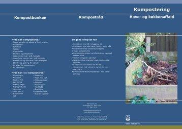 Folder om kompostering 3.indd - Det Grønne Hus