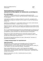 Læs sammenfatningen af undersøgelsesresultater - Dansk ...