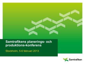 Samtrafikens planerings- och produktions-konferens