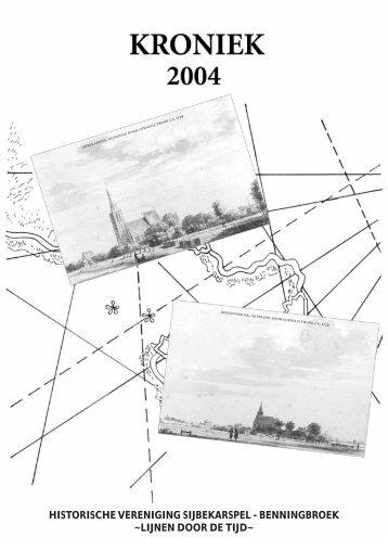 Kroniek 2004 - Lijnen door de Tijd