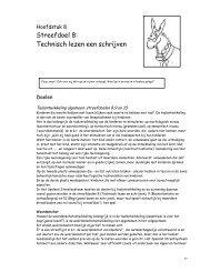Streefdoel 8: Technisch lezen een schrijven - IPO Uitgever