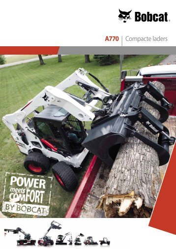 A770   Compacte laders - Lectura SPECS