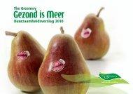 Download het duurzaamheidsverslag 2010 - The Greenery Zachtfruit