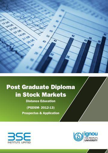 Post Graduate Diploma in Stock Markets