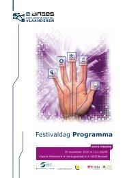 Festivaldag Programma - Instituut Samenleving en Technologie