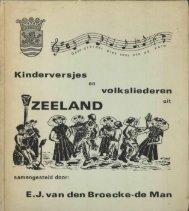 1979 Kinderversjes en liederen - Zeeuwse Dialect