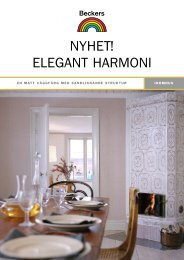 Elegant Harmoni - Beckers