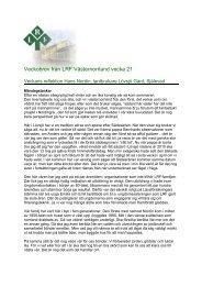 Veckobrev från LRF Västernorrland vecka 21