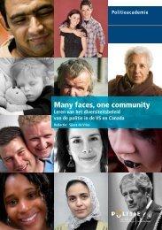 Many faces, one community - Politieacademie