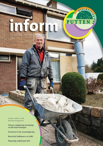 Inform februari 2011 - Woningstichting Putten